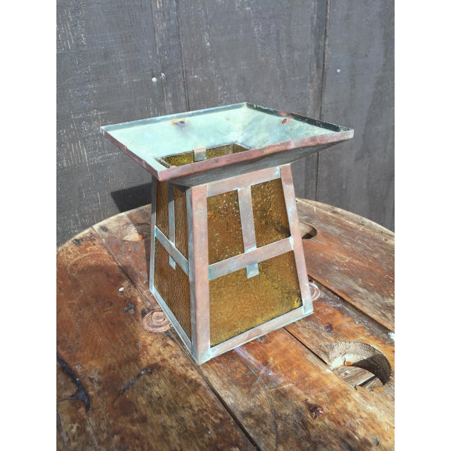 1920s Outdoor Copper Sconce For Sale - Image 4 of 7
