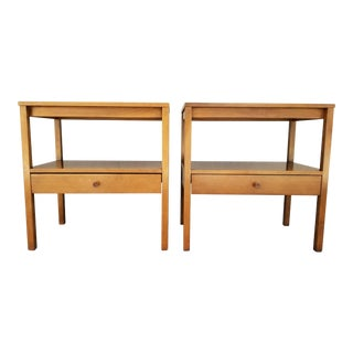Paul McCobb Side Tables / Nightstands - a Pair For Sale