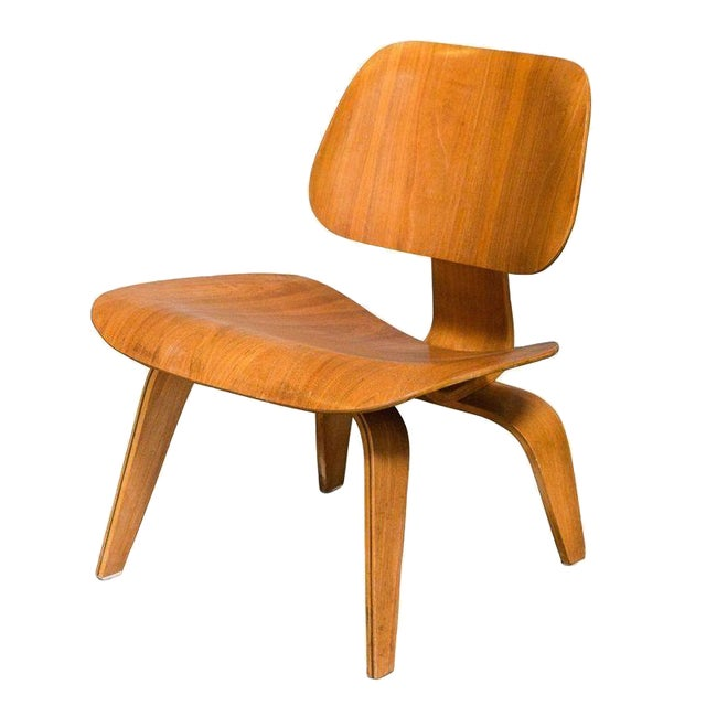 Eames Bentwood Low Chair in Medium Finish - Image 1 of 5