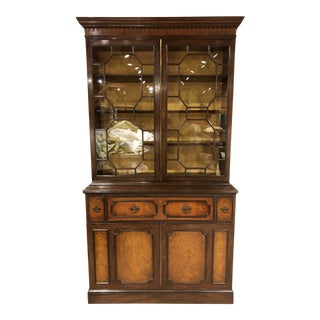 1930s Schmieg and Kotzian China Cabinet For Sale