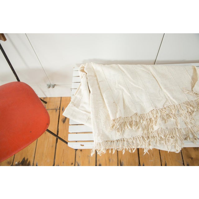 """Vintage African Textile Throw - 3'7"""" X 5'3"""" - Image 2 of 5"""