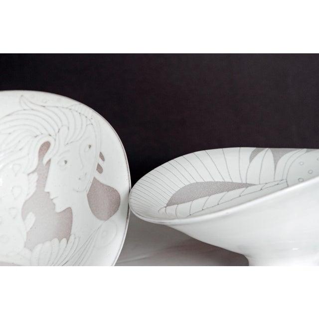 Midcentury Bowl by Upsala-Ekeby - Image 4 of 11