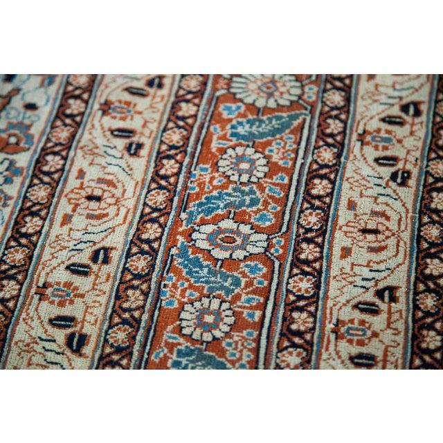 """Fine Antique Haji Jalili Tabriz Rug - 3'11"""" X 5'10"""" For Sale - Image 10 of 13"""