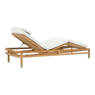Summit Furniture Linley Adjustable Chaise For Sale
