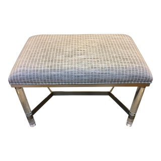 Modern Lucite Bench For Sale
