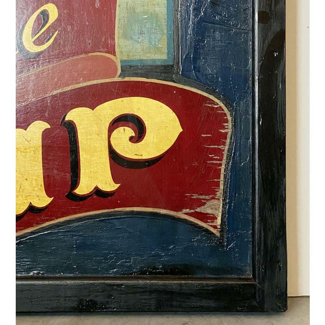 """Blue Vintage English Pub Sign, """"The Ship"""" For Sale - Image 8 of 13"""