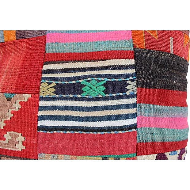 Patchwork Kilim Large Pillow - Image 3 of 5