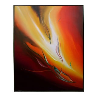 'The Fire Within' Abstract Art