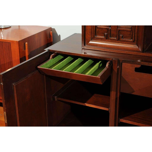 Brown Edmond Spence Buffet For Sale - Image 8 of 11