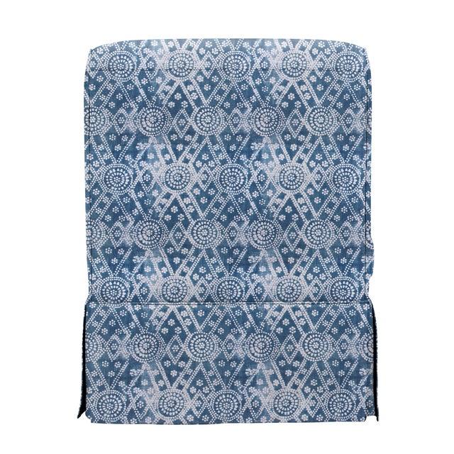 Traditional LuRu Home for Casa Cosima Slipper Chair, Pavillion Bay For Sale - Image 3 of 5