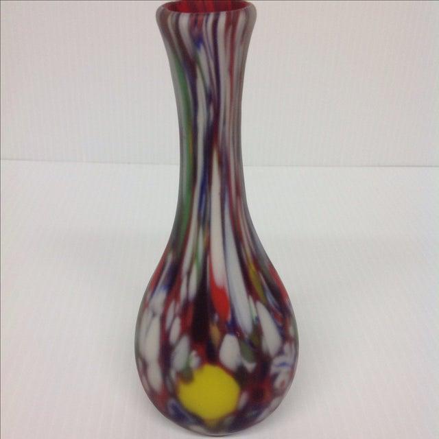 Dino Martin Avem Murano Glass Tutti Frutti Vase For Sale - Image 5 of 6