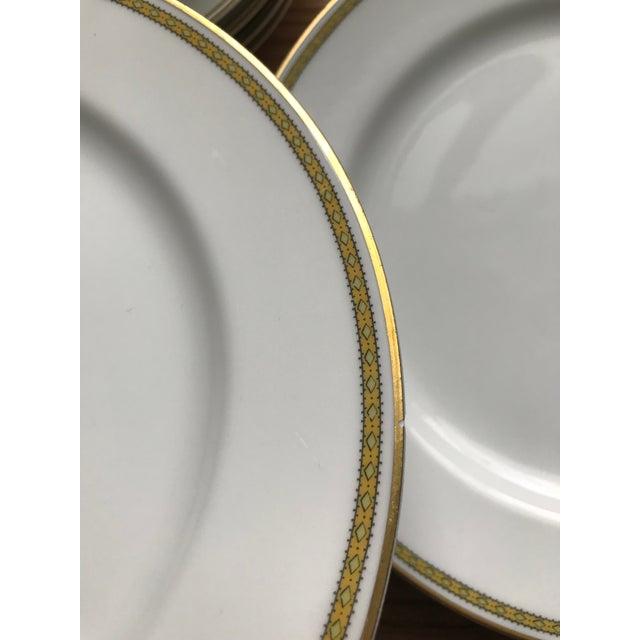 Limoges, France Limoges Art Deco Bone China Dinnerware For Sale - Image 4 of 12