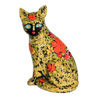 Ceramic Italian Cat For Sale