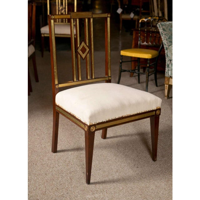 Russian Neoclassical Dining Chairs - Set of 11 For Sale - Image 7 of 9
