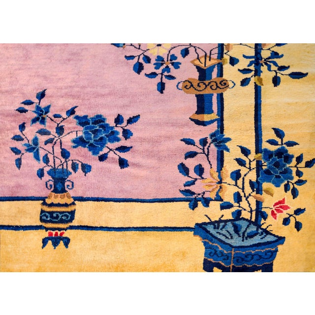 Gorgeous Chinese Art Deco Rug For Sale - Image 4 of 8
