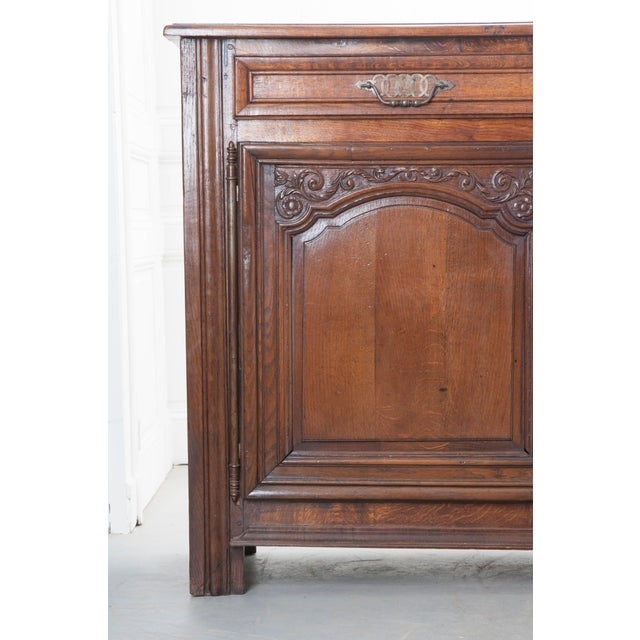 Late 19th Century French 19th Century Oak Enfilade For Sale - Image 5 of 10
