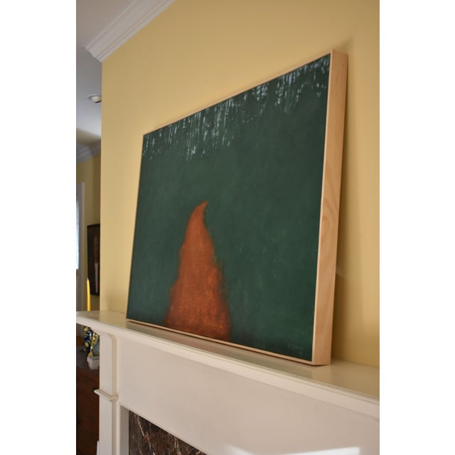 """Stephen Remick """"Passing Through the Pines"""" Contemporary Abstract Painting For Sale In Providence - Image 6 of 9"""