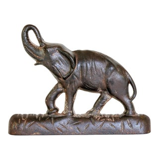 Cast Iron Elephant For Sale