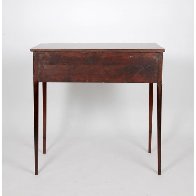 Wood Antique English Regency Dressing Table For Sale - Image 7 of 9