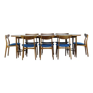 1960's Vintage Paul McCobb Dining Set- 9 Pieces For Sale