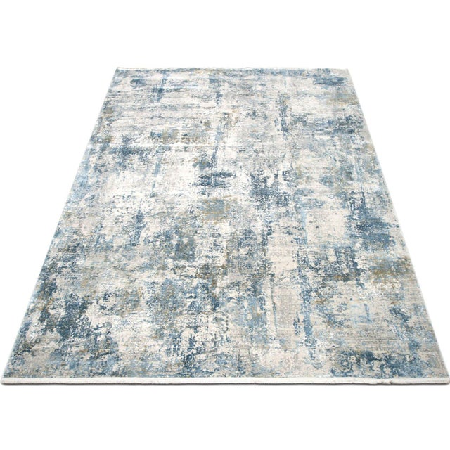 """Contemporary Turkish Loomed Rug - 3'3"""" X 4'11"""" For Sale - Image 4 of 6"""