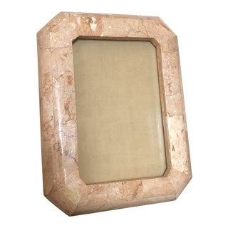 Pink Tessellated Stone Picture Frame For Sale