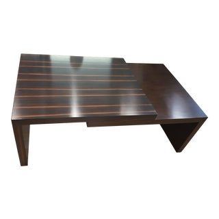 John Richard Stepped Cocktail Table For Sale