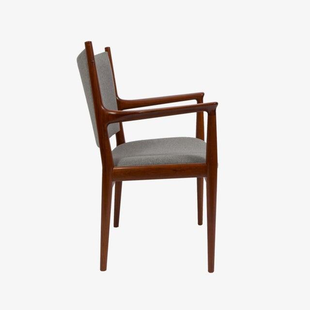 1960s Pair of Hans Wegner Teak Armchairs For Sale - Image 5 of 7