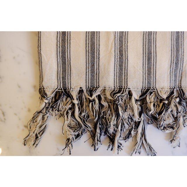 Fiber Turkish Hand Made Towel With Natural/Organic Cotton and Fast Drying,39x73 Inches For Sale - Image 7 of 13