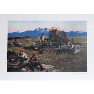 Duane Bryers, His Family , Lithograph For Sale