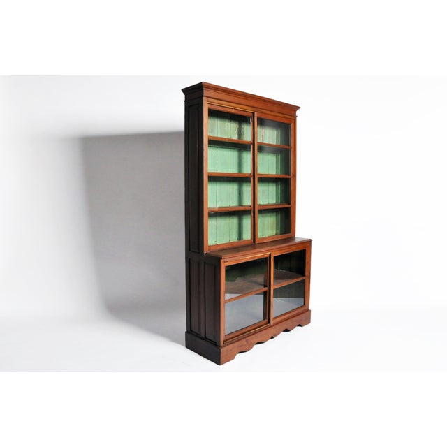 1950s British Colonial Bookcase For Sale In Chicago - Image 6 of 13