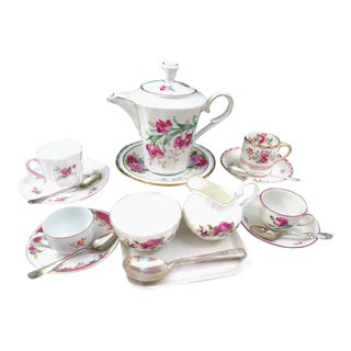 Vintage Mismatched Demitasse Set