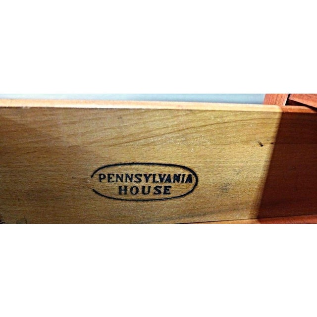 Pennsylvania House Early American Cherry Hutch For Sale - Image 9 of 10