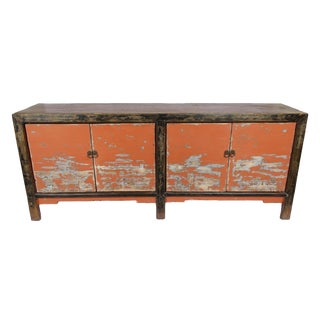 Circa 1900 Antique Gansu Sideboard =