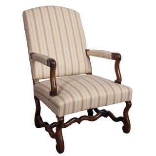 Single Louis XIII Fauteuil For Sale