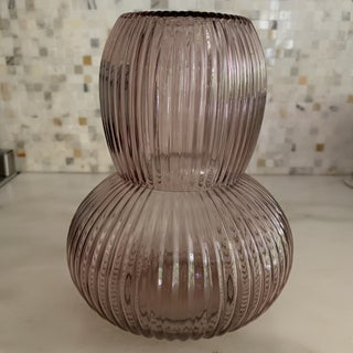 Balos Amethyst Glass Carafe and Glass Preview