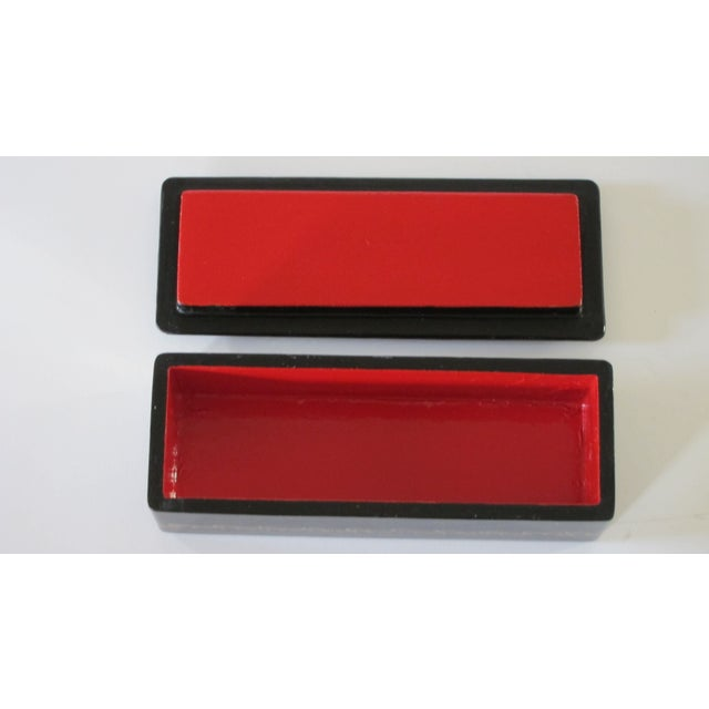 Signed Russian Lacquer Box For Sale - Image 4 of 5