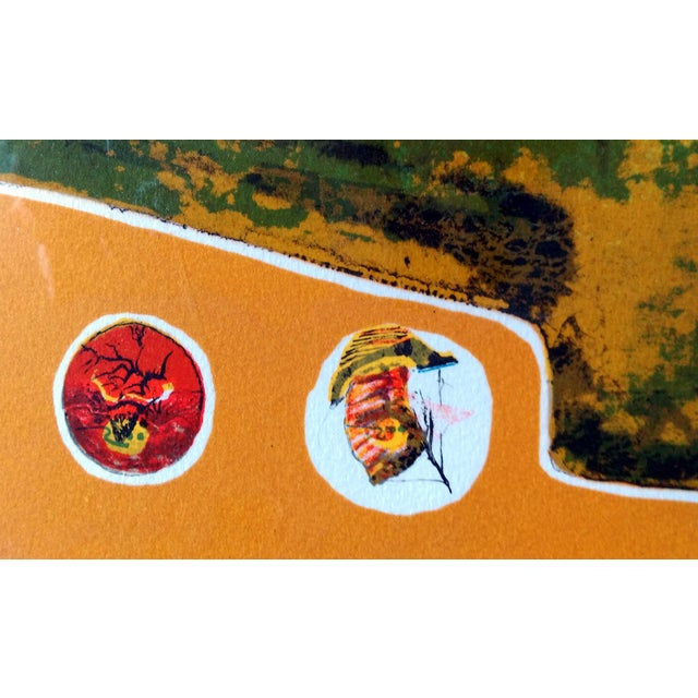 """Bord du Lac I"" Lithograph by Hoi Lebadang - Image 9 of 11"