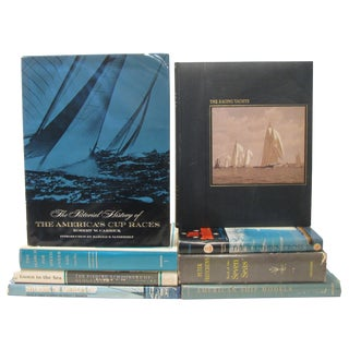 Sailing / Nautical Book Collection, S/8 For Sale