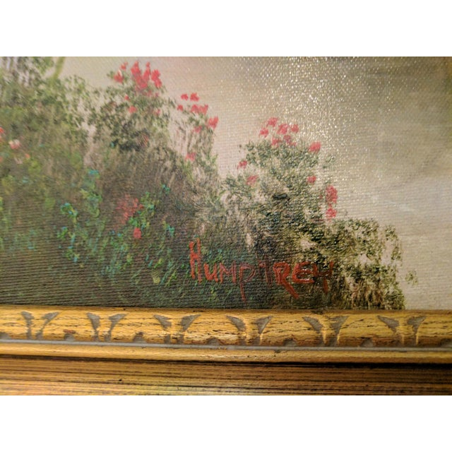 1955 Oil on Canvas Signed by Humphrey For Sale - Image 5 of 5