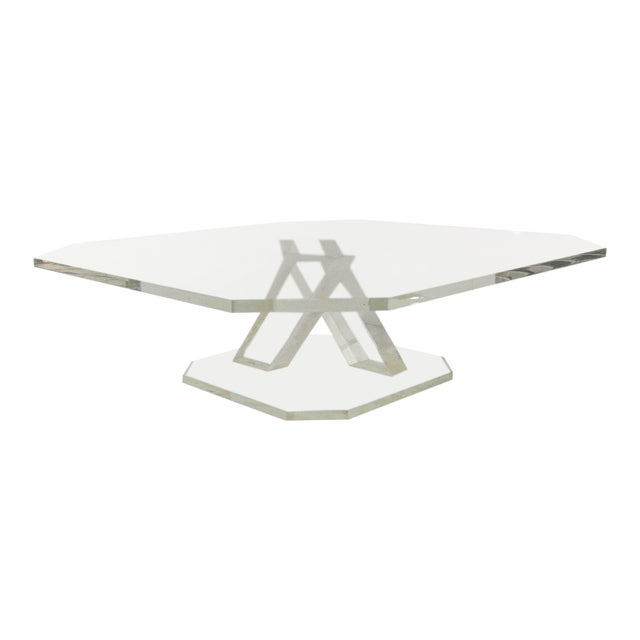 Lucite Cake Stand For Sale