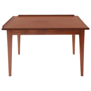 Finn Juhl Oiled Teak Side Table For Sale