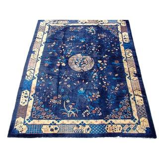 Chinese Peking Carpet - 12′ × 15′4″ For Sale