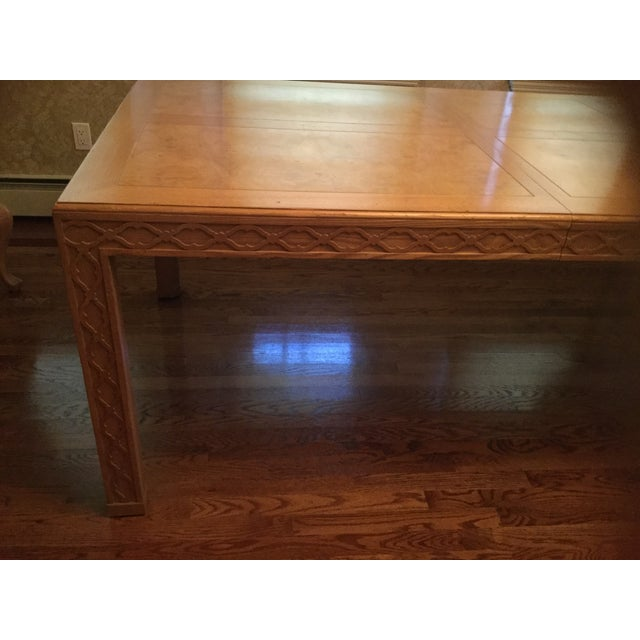 Henredon Dining Table For Sale - Image 5 of 7