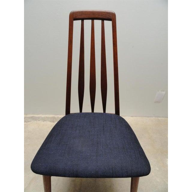 Danish Modern Eva Dining Chairs by Koefoeds Hornslet - Set of 4 - Image 8 of 10