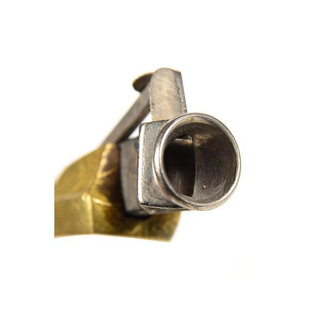 Gold Bronze Bird Figure Cigar Cutter For Sale - Image 8 of 8