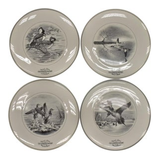 1960s Vintage Maynard Reese Etal Federal Duck Stamp Plates - Set of 4 For Sale