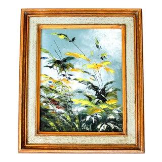 Vintage Floral Painting For Sale