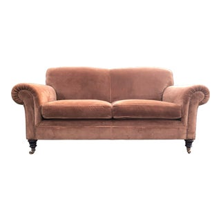 George Smith Mohair Elverdon Sofa For Sale