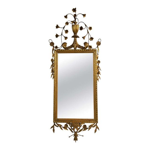 Italian Giltwood Mirror For Sale
